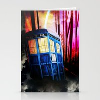dr who Stationery Cards featuring dr who by shannon's art space