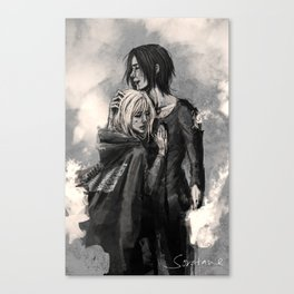 """No matter what, I'm on your side."" Canvas Print"