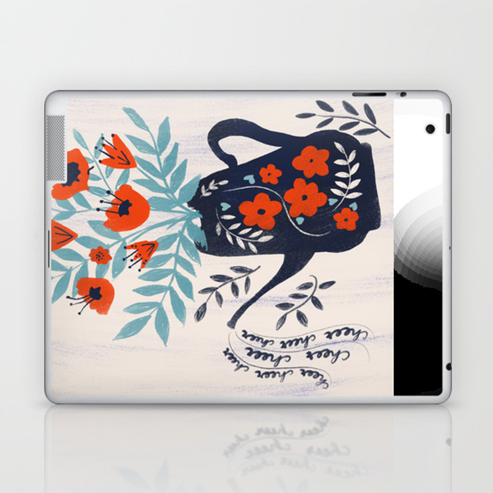Cup Of Cheer Laptop & Ipad Skin by Katejoycreative LSK8522319