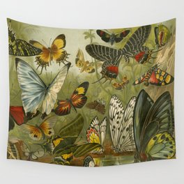 Papillons  Wall Tapestry