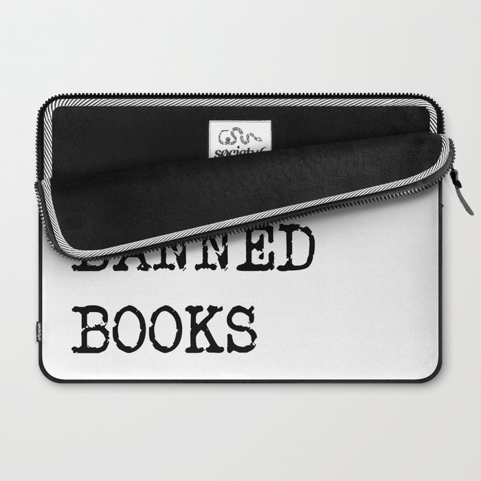 Read Banned Books Laptop Sleeve