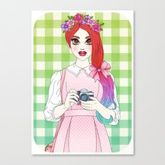 Pretty as a Picture Canvas Print