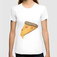 pizza T-shirts featuring Pizza by Indiana-Jonas