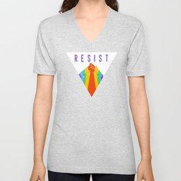 Resist (Pride) Unisex V-Neck