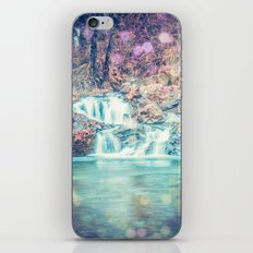 Waterfall Nature Water - Magical Teal Blue Waterfall in Washington iPhone & iPod Skin