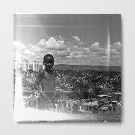 Above Santiago de Cuba Metal Print