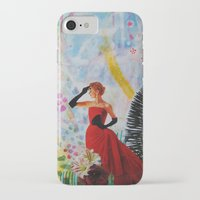 vogue iPhone & iPod Cases featuring Vogue by John Turck