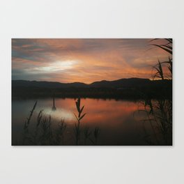 October Morning Canvas Print