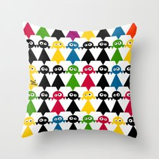 mooimooi girls Throw Pillow