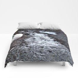 Mountain Run Off Comforters