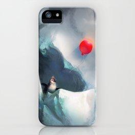 Heart Penguin iPhone Case