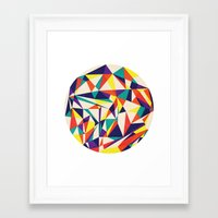 games Framed Art Prints featuring Love Games by Anai Greog