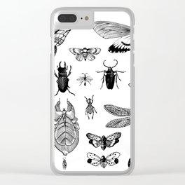 Bug Board Clear iPhone Case