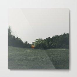 Meadows Heart Metal Print