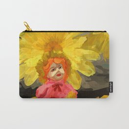 Creepy Sunflower Carry-All Pouch