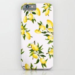 life gives ya lemons iPhone Case