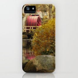 Wheel at the Grist Mill iPhone Case