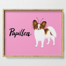 Papillon (Pink) Serving Tray