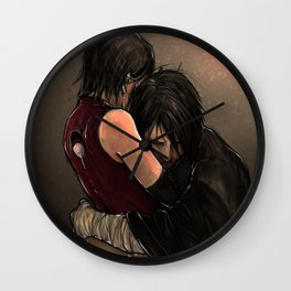 You with the sad eyes Wall Clock