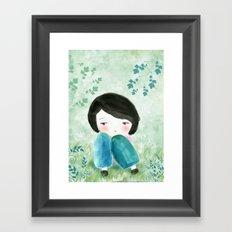 Nature, my soul Framed Art Print