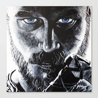 viking Canvas Prints featuring VIKING by John McGlynn