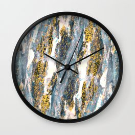 Print Texture  Wall Clock