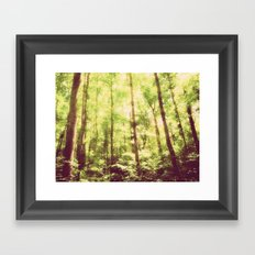 Untamed Forest Framed Art Print