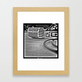 liberation frequency. Framed Art Print