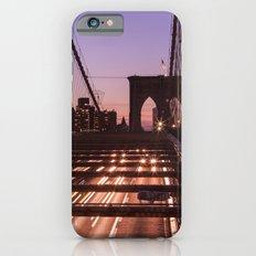 Brooklyn Bridge By Night Slim Case iPhone 6s