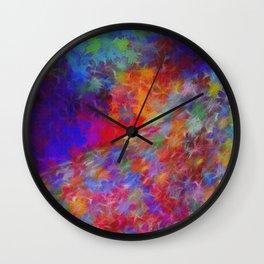 Floral Avenue Wall Clock
