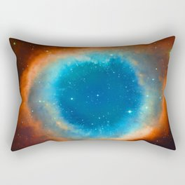Eye Of God - Helix Nebula Rectangular Pillow
