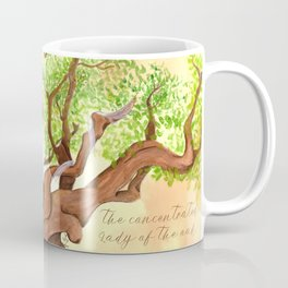 The concentrated Lady of the Oak Coffee Mug