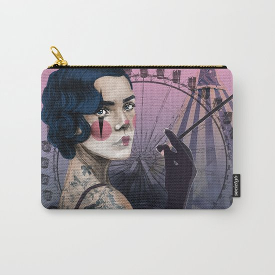 Cirque_Lady Carry-All Pouch