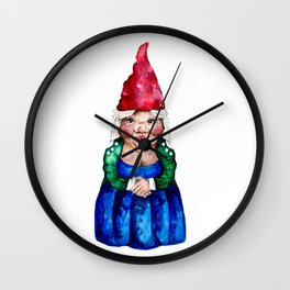 Mildred the Gnome Wall Clock