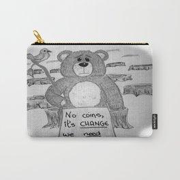 Sad bear 2 Carry-All Pouch