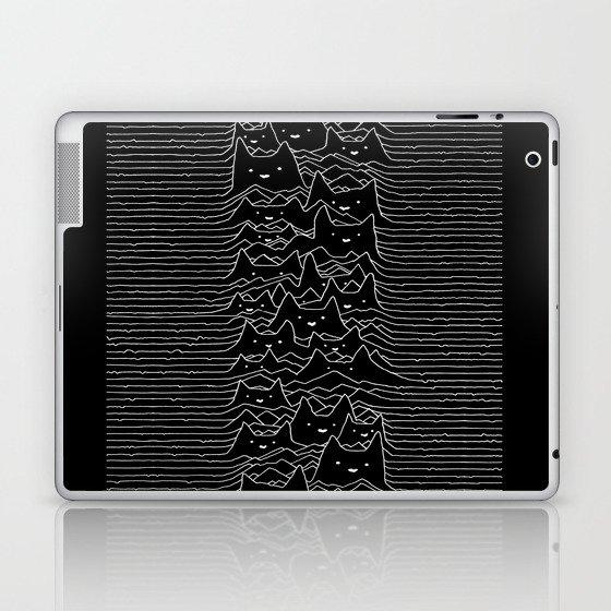 Joy Division Unknown Pleasures Laptop & iPad Skin