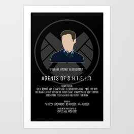 Agents of S.H.I.E.L.D. - Fitz Art Print