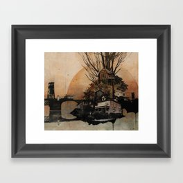 Northwest PDX Framed Art Print
