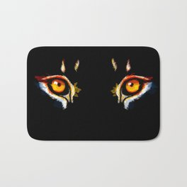 Lion Eyes Bath Mat