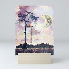 Surreal Mixed Media Art by Katie Hofacker Mini Art Print