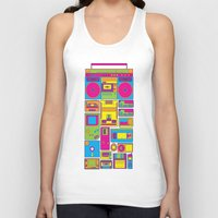 90s Tank Tops featuring 90s by sknny