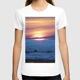 Sunset over Blue Waters T-shirt