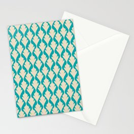 Green Vintage Stationery Cards