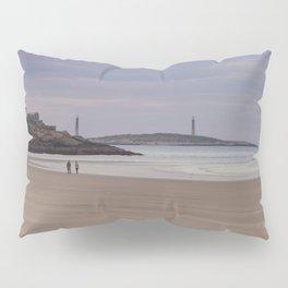 Twin Lights at Good Harbor beach Pillow Sham