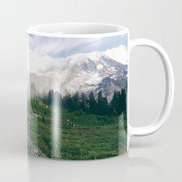 Mt Rainier Path Coffee Mug