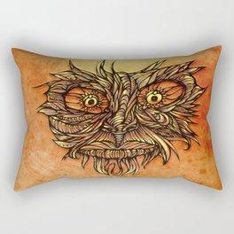 Face Flow Color Rectangular Pillow