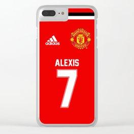 Alexis Sanchez Edition - Manchester United Home 2017/18 Clear iPhone Case