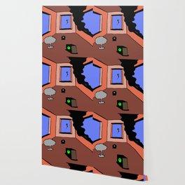 dystopian bedroom Wallpaper