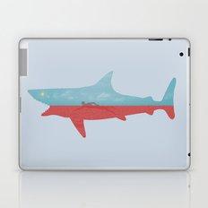 Bad day for a swim Laptop & iPad Skin