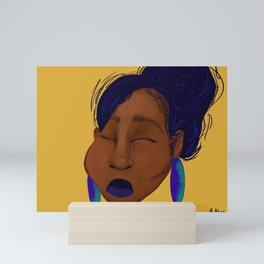 Southern Bleu Mini Art Print